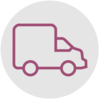 Delivery van icon